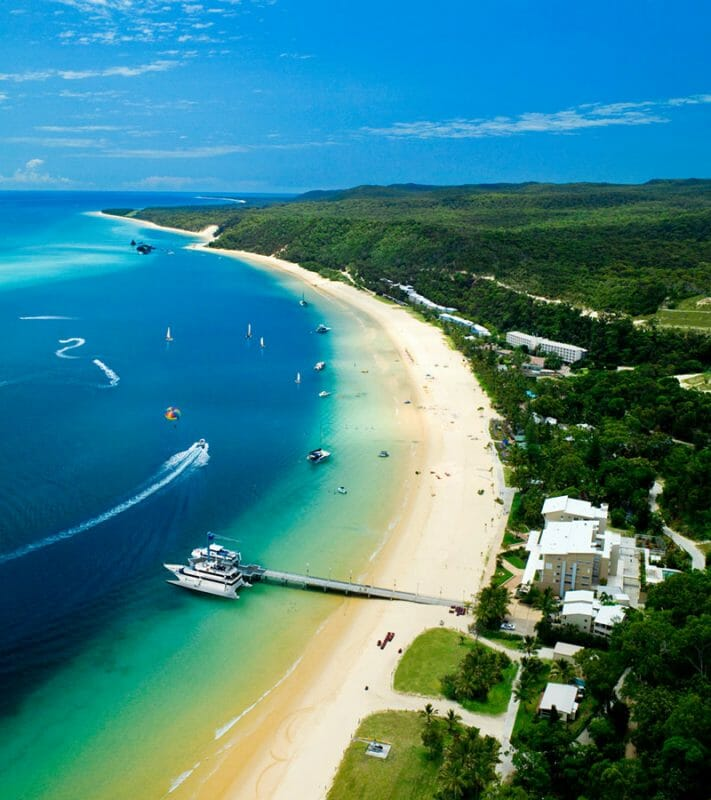best island resorts in australia