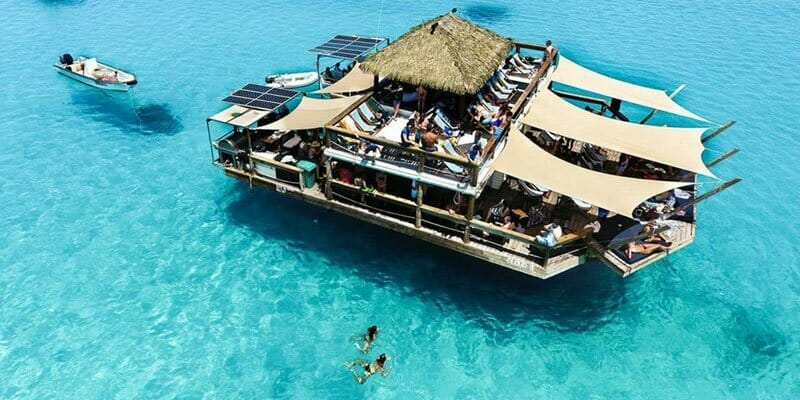 fiji floating bar
