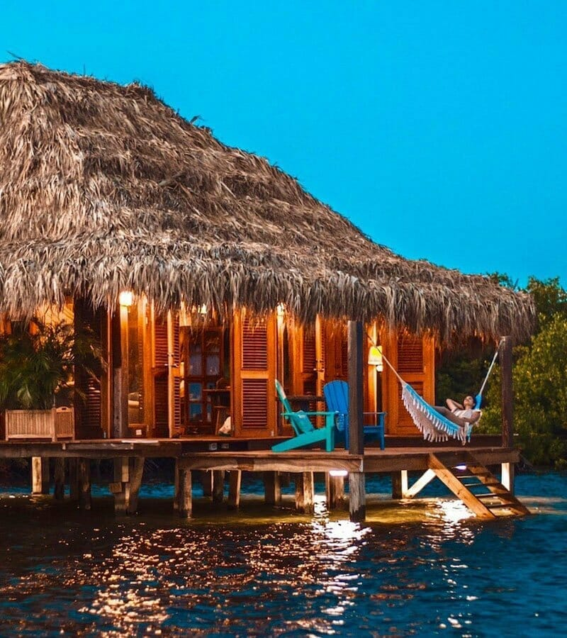 overwater bungalows in usa