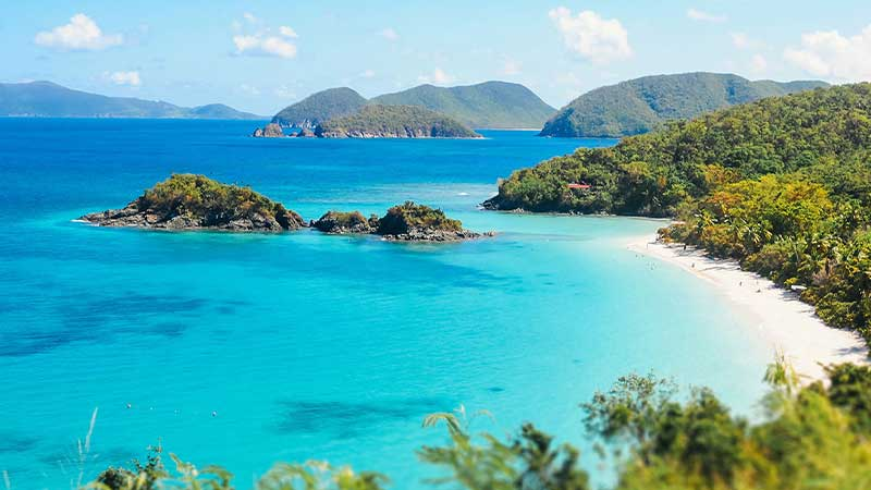 15 Best Tropical Beaches in the USA
