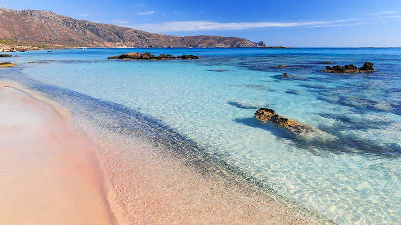 Best Pink Sand Beaches in Greece