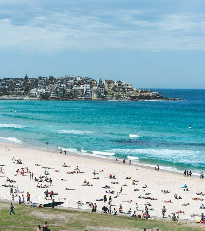 why is bondi beach so famous