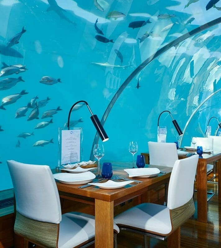 underwater maldives restaurant