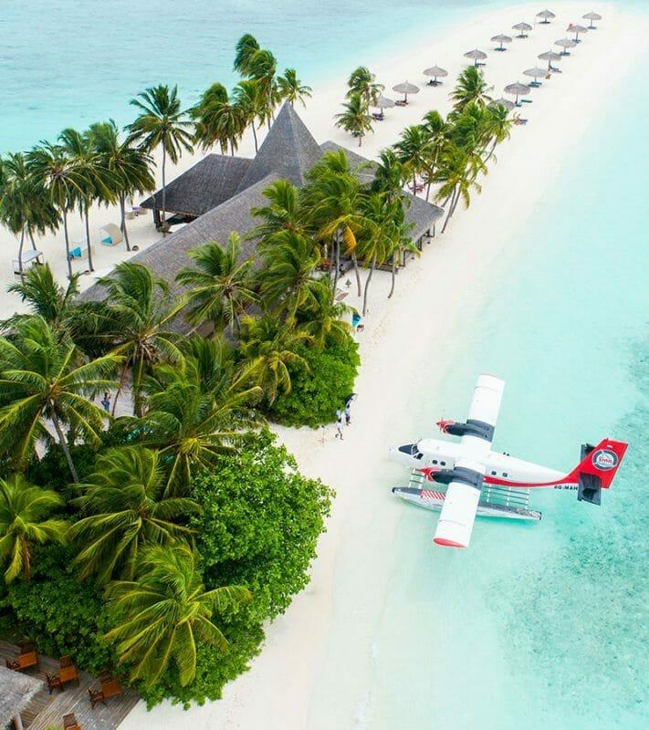 seaplane maldives islands