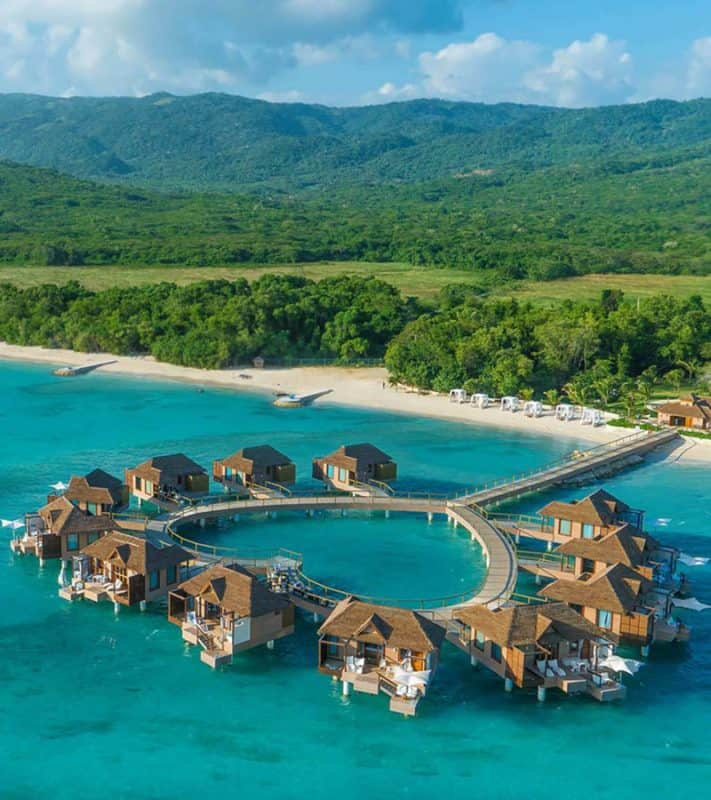best overwater bungalows in jamaica