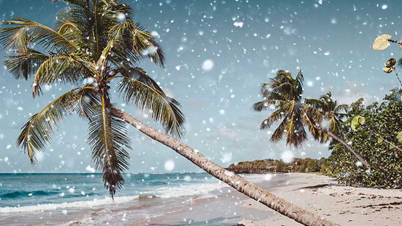 Does It Snow On The Beach? (Full Answer)